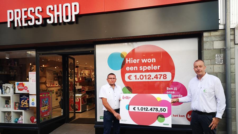 Nationale Loterij Press Shop Limburger wint jackpot